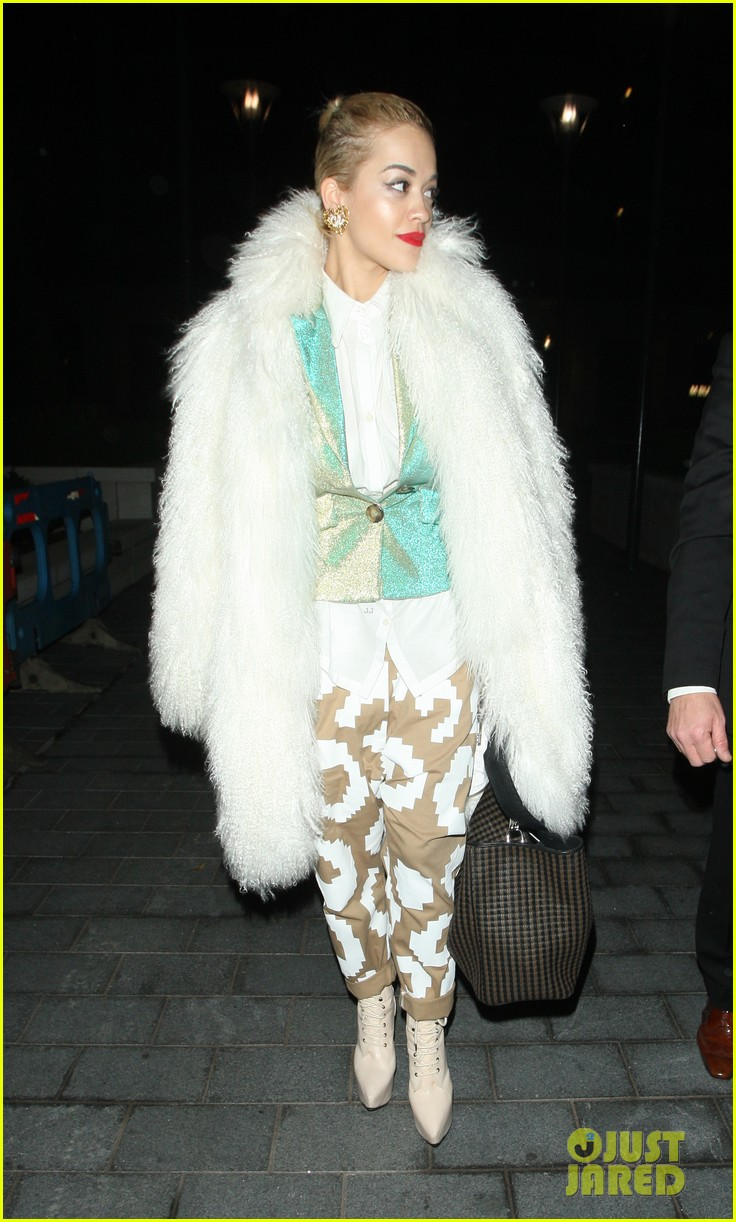 rita ora enjoys dinner out while home in london 103010699