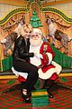rita ora material girl holiday collection celebration with santa 05