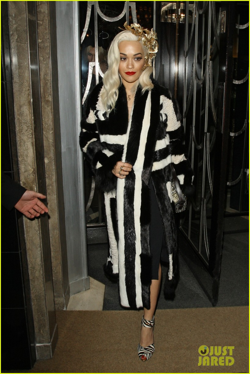 rita ora steps out after fifty shades casting news 12