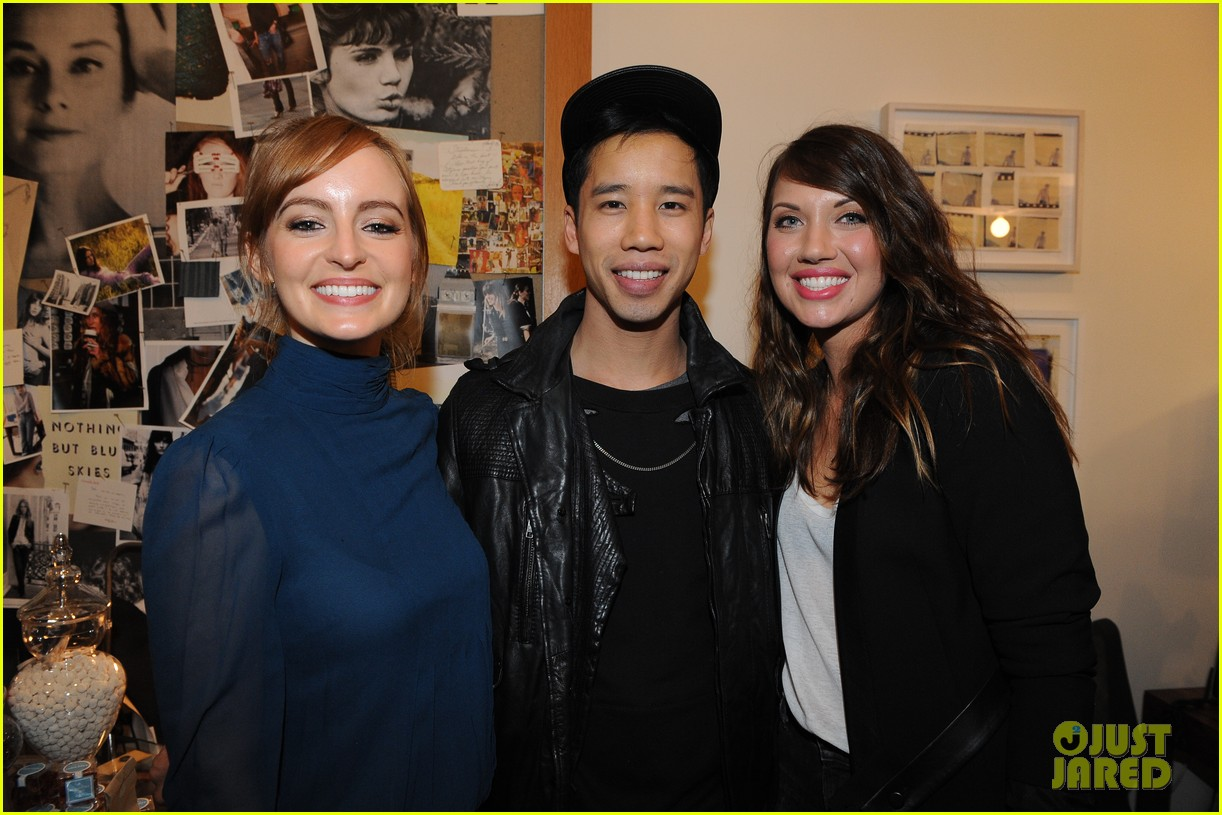 ahna oreilly bridgit mendler citizens of humanity event 023006818