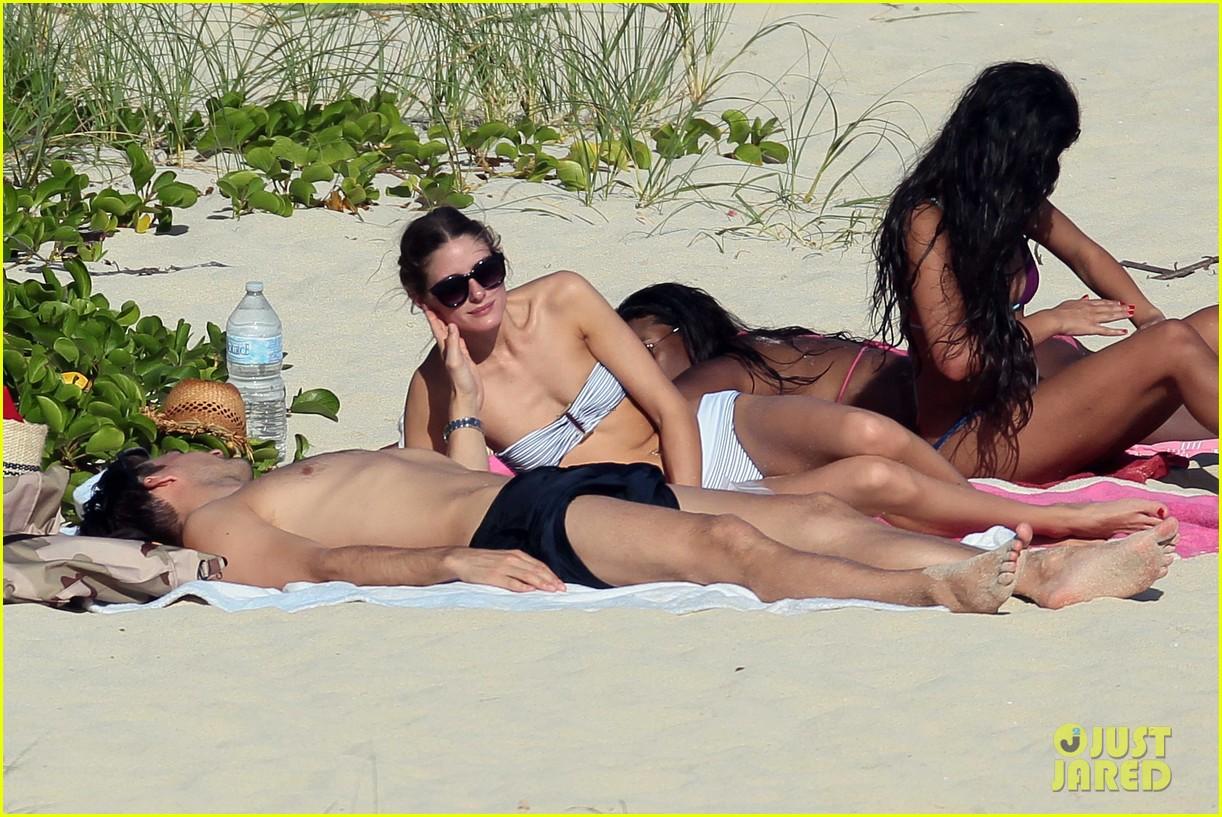 olivia palermo johannes huebl st barts beach vacation 043019825