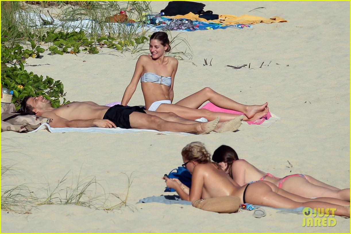 olivia palermo johannes huebl st barts beach vacation 103019831