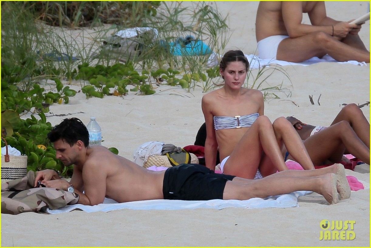 olivia palermo johannes huebl st barts beach vacation 213019842