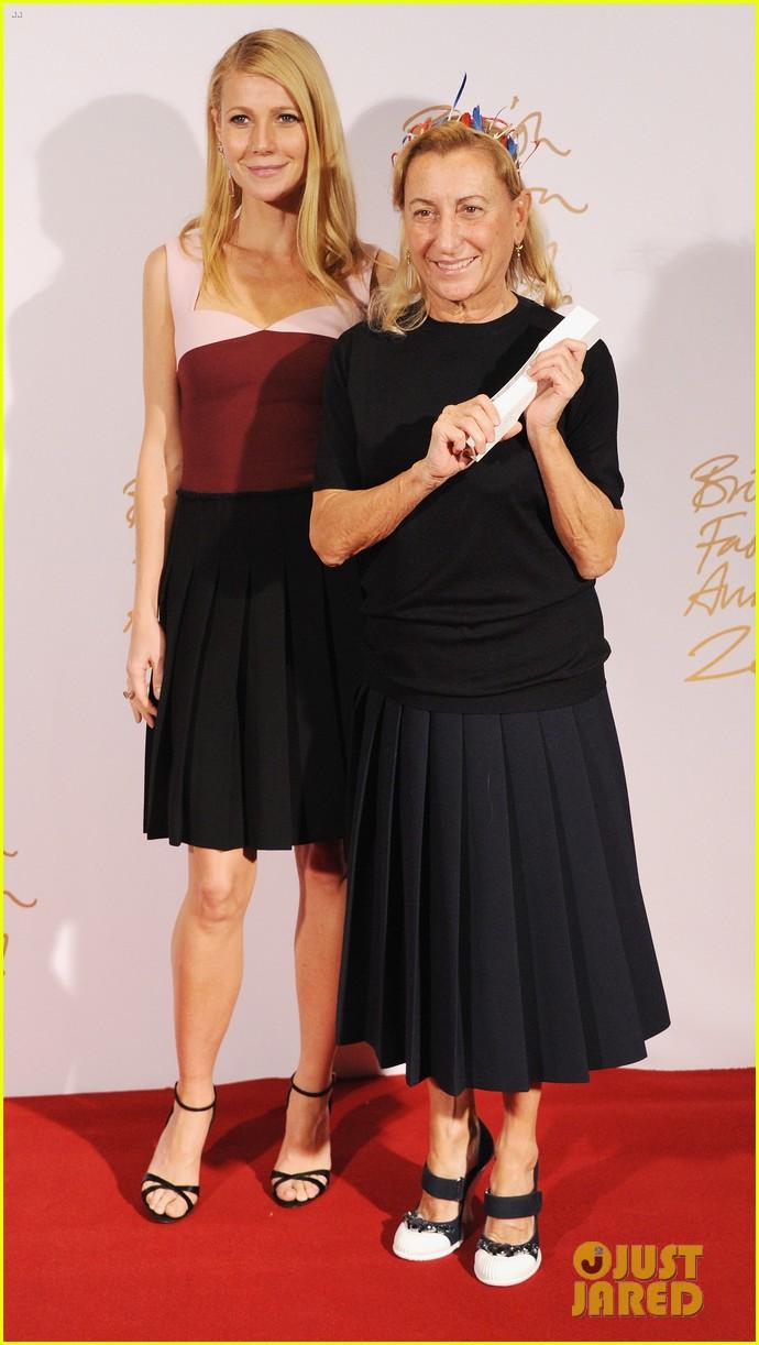 gwyneth paltrow british fashion awards 2013 053003580