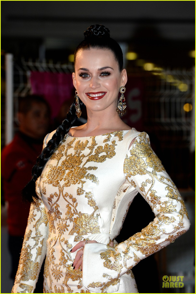 katy perry golden girl at nrj music awards 2013 153011958