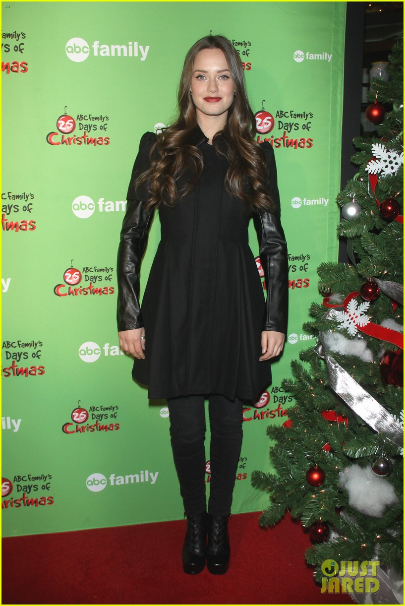 sasha pieterse keegan allen 25 days of christmas winter wonderland 083008243