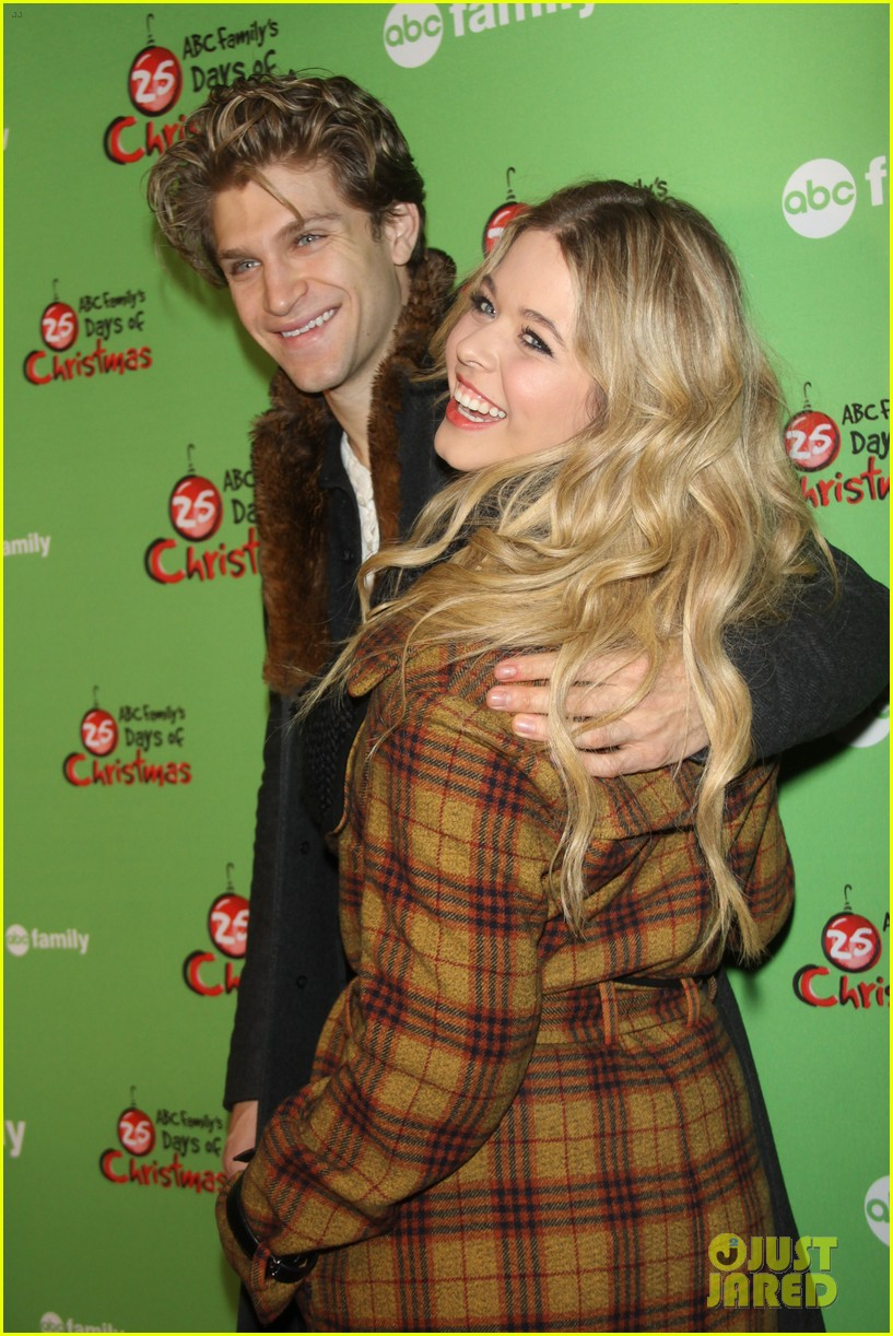 sasha pieterse keegan allen 25 days of christmas winter wonderland 12