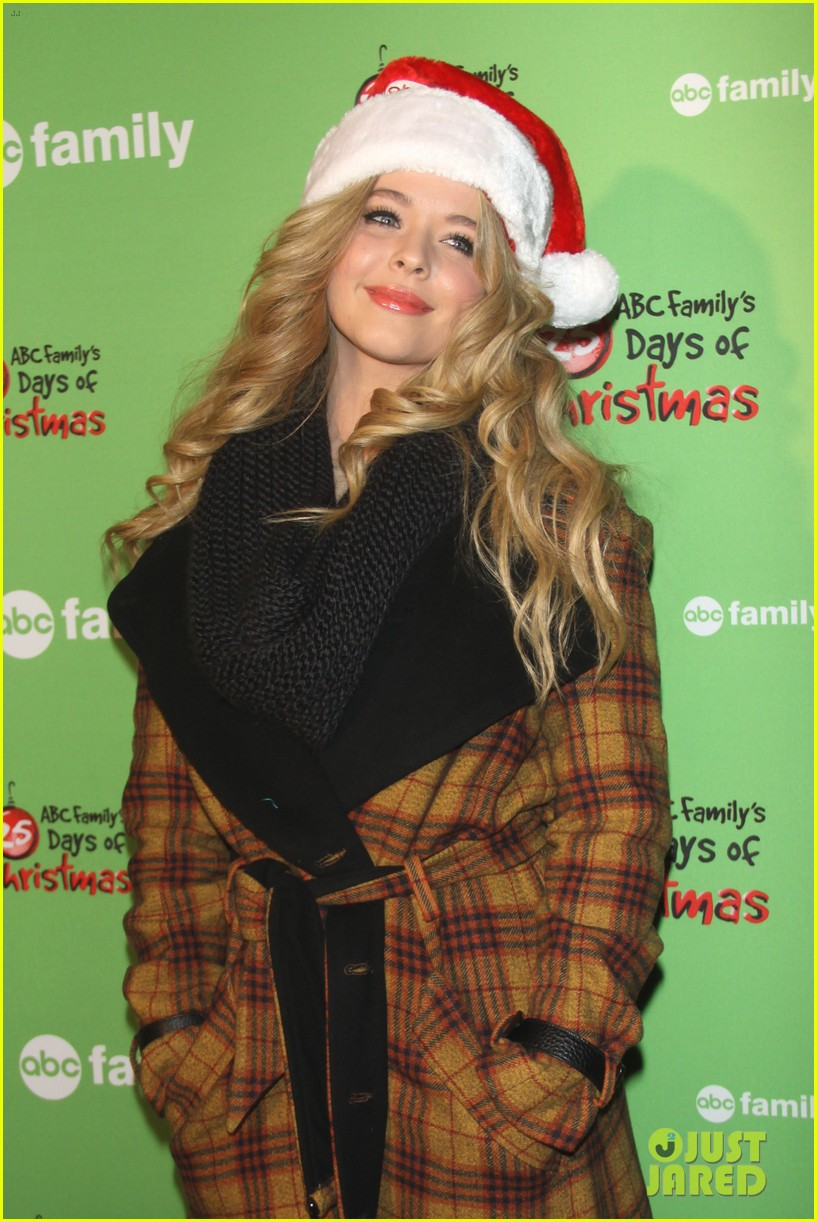 sasha pieterse keegan allen 25 days of christmas winter wonderland 223008257