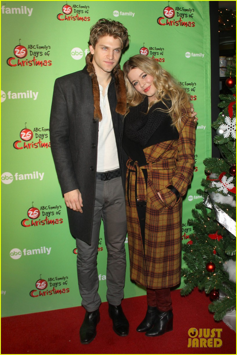 sasha pieterse keegan allen 25 days of christmas winter wonderland 233008258