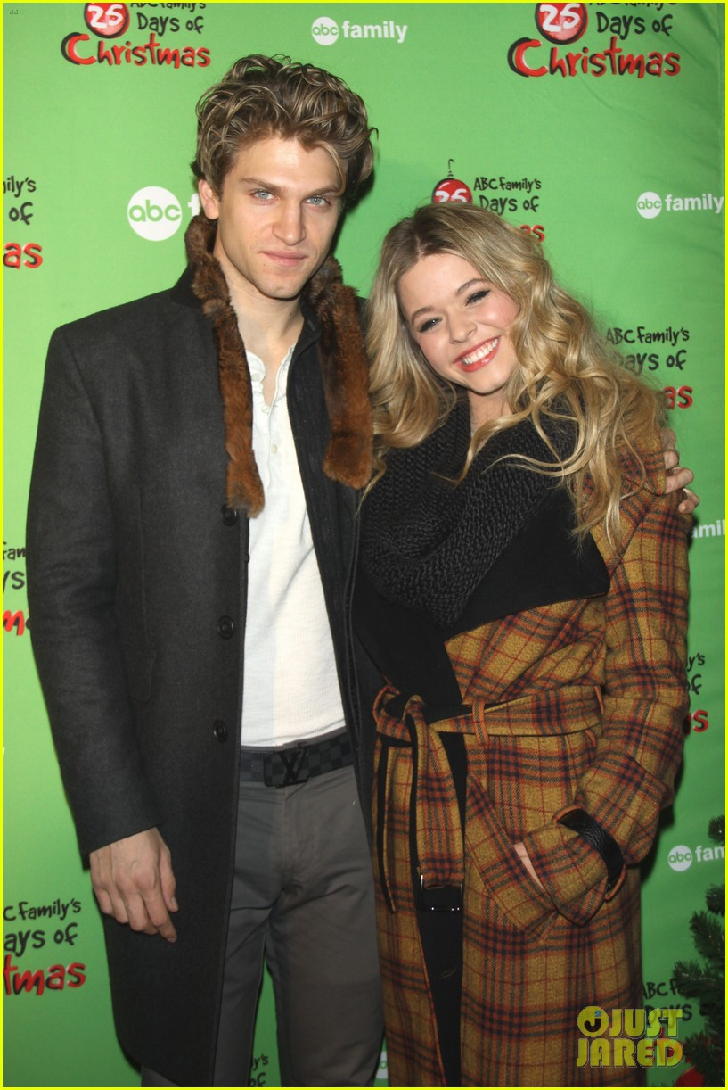 sasha pieterse keegan allen 25 days of christmas winter wonderland 243008259