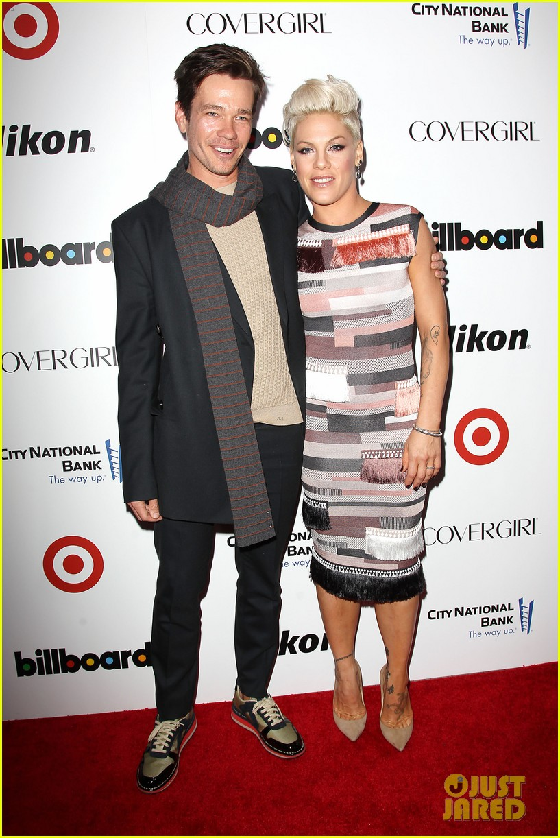 pink billboard women in music event with carey hart 113009186