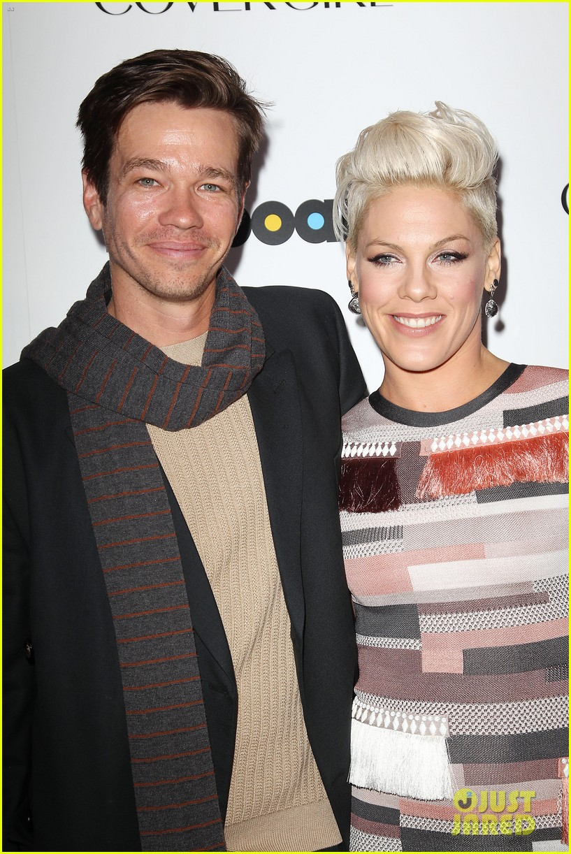 pink billboard women in music event with carey hart 133009188