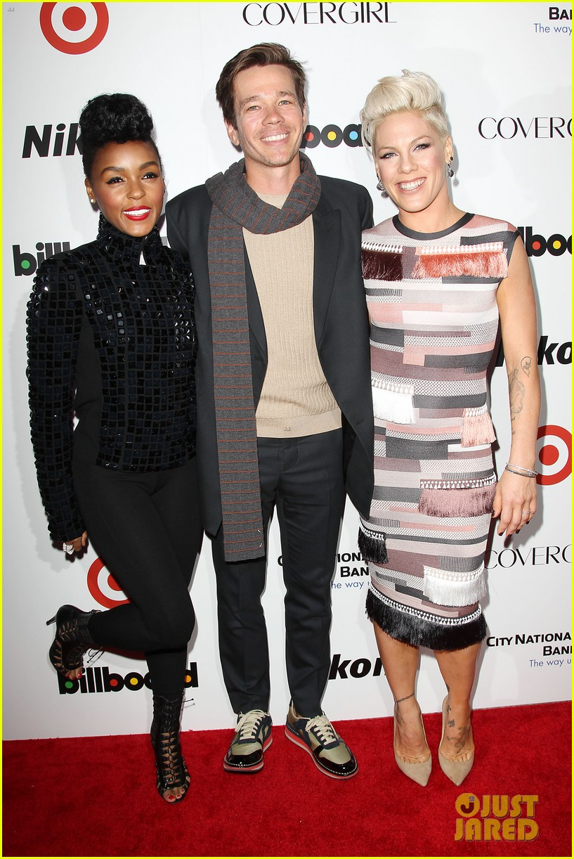 pink billboard women in music event with carey hart 163009191