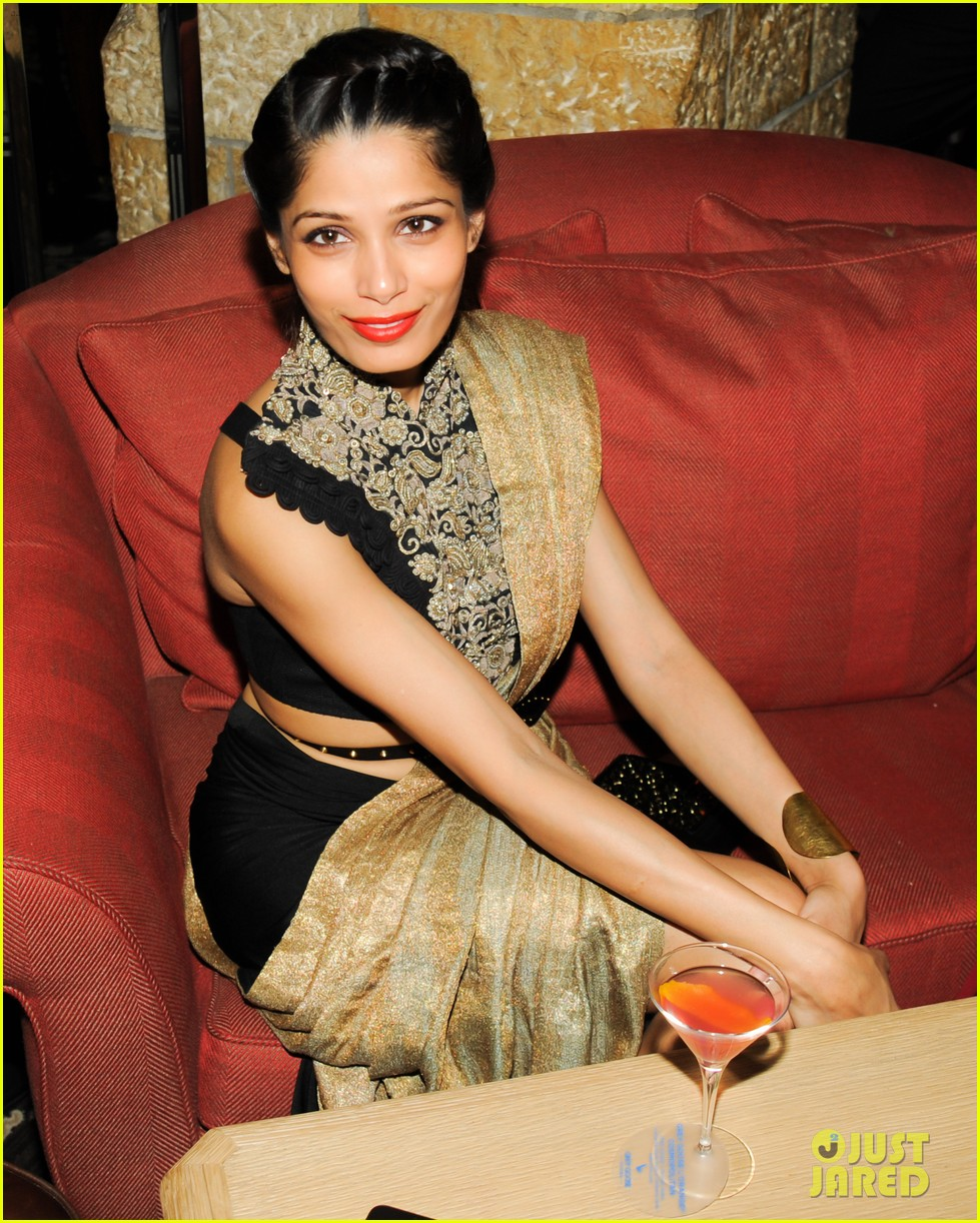 freida pinto asmallworld winter weekend in switzerland 273013093
