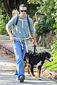 freddie prinze jr walks the dog with son rocky 03