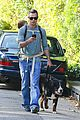 freddie prinze jr walks the dog with son rocky 07