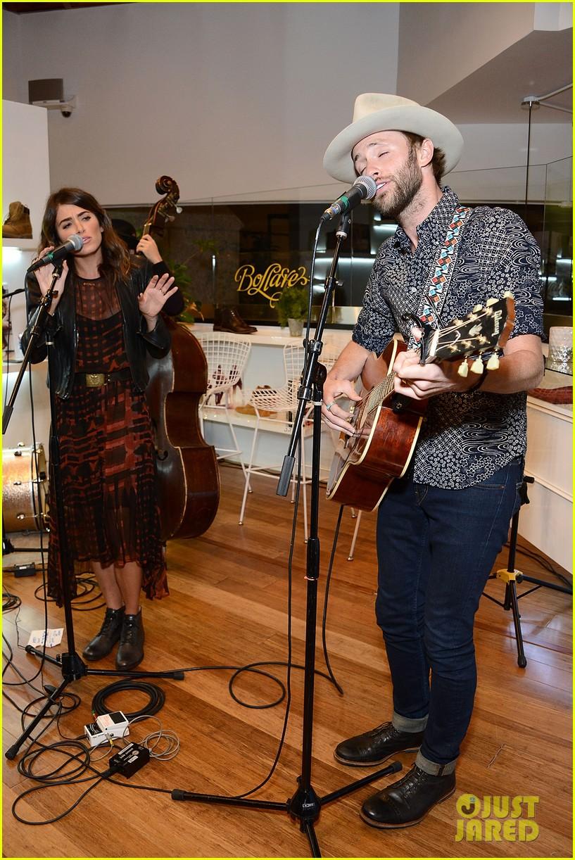 nikki reed paul mcdonald timberland acoustic night 033013135