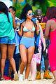 rihanna bikini beach babe for barbados christmas 01