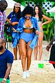 rihanna bikini beach babe for barbados christmas 19