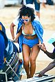 rihanna bikini beach babe for barbados christmas 23