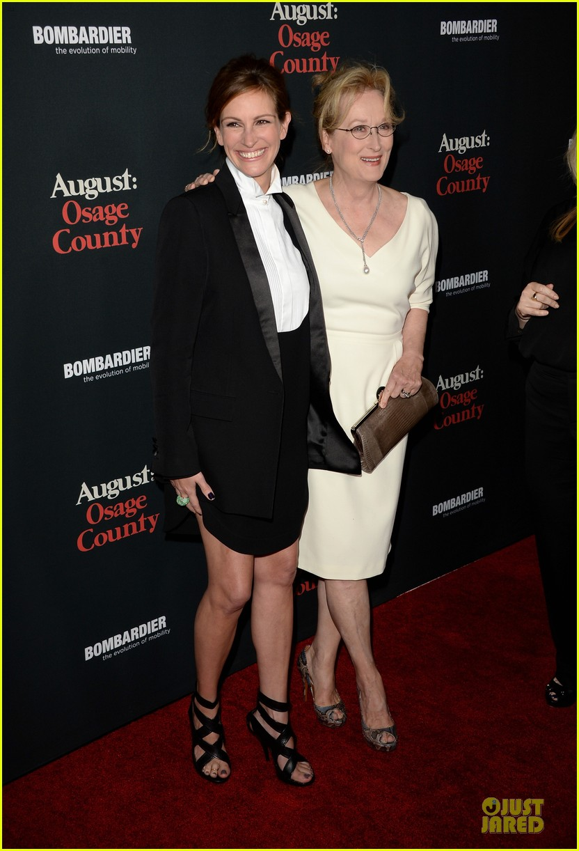 Julia Roberts & Meryl Streep: \'August: Osage County\' L.A. Premiere ...