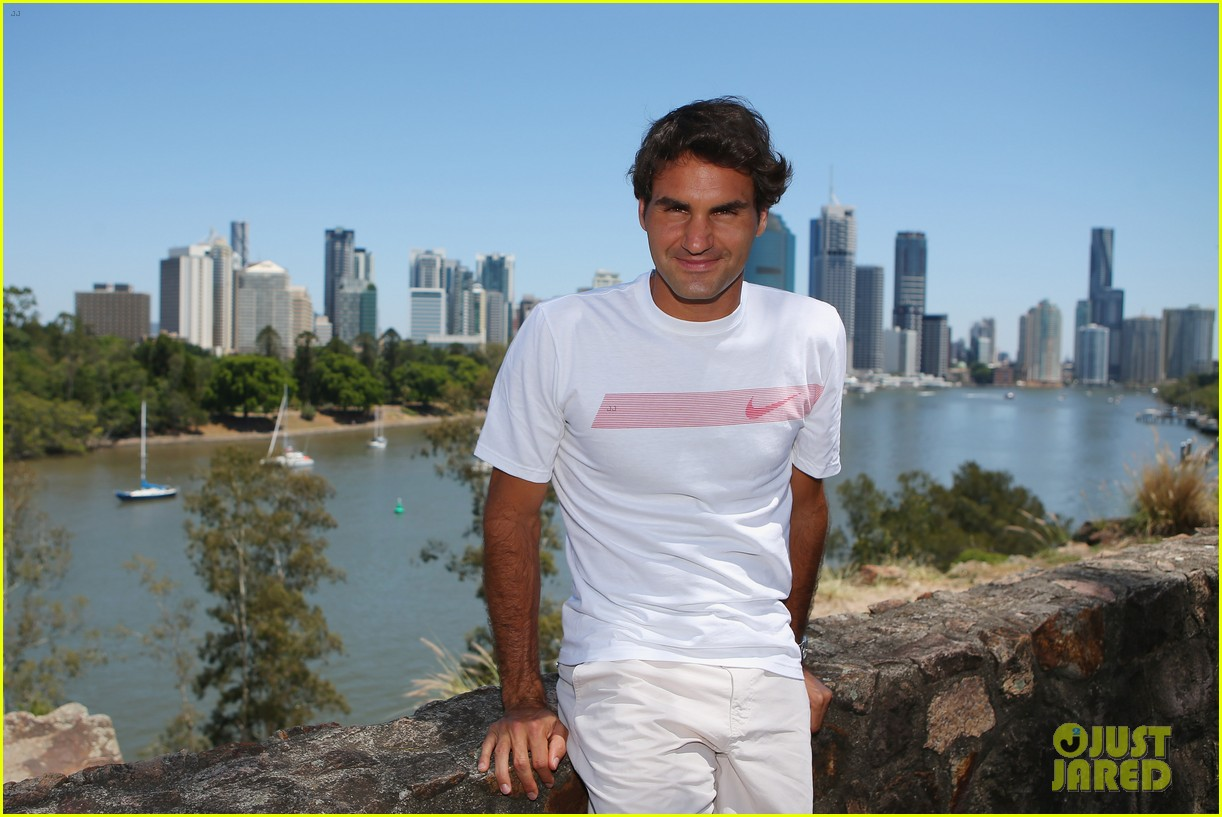 roger federer brisbane international after baby news 063019401