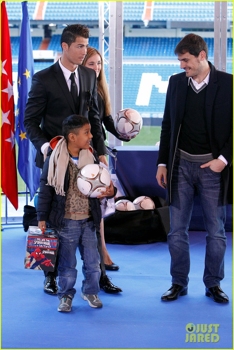 cristiano ronaldo one toy one hope charity event 103013580