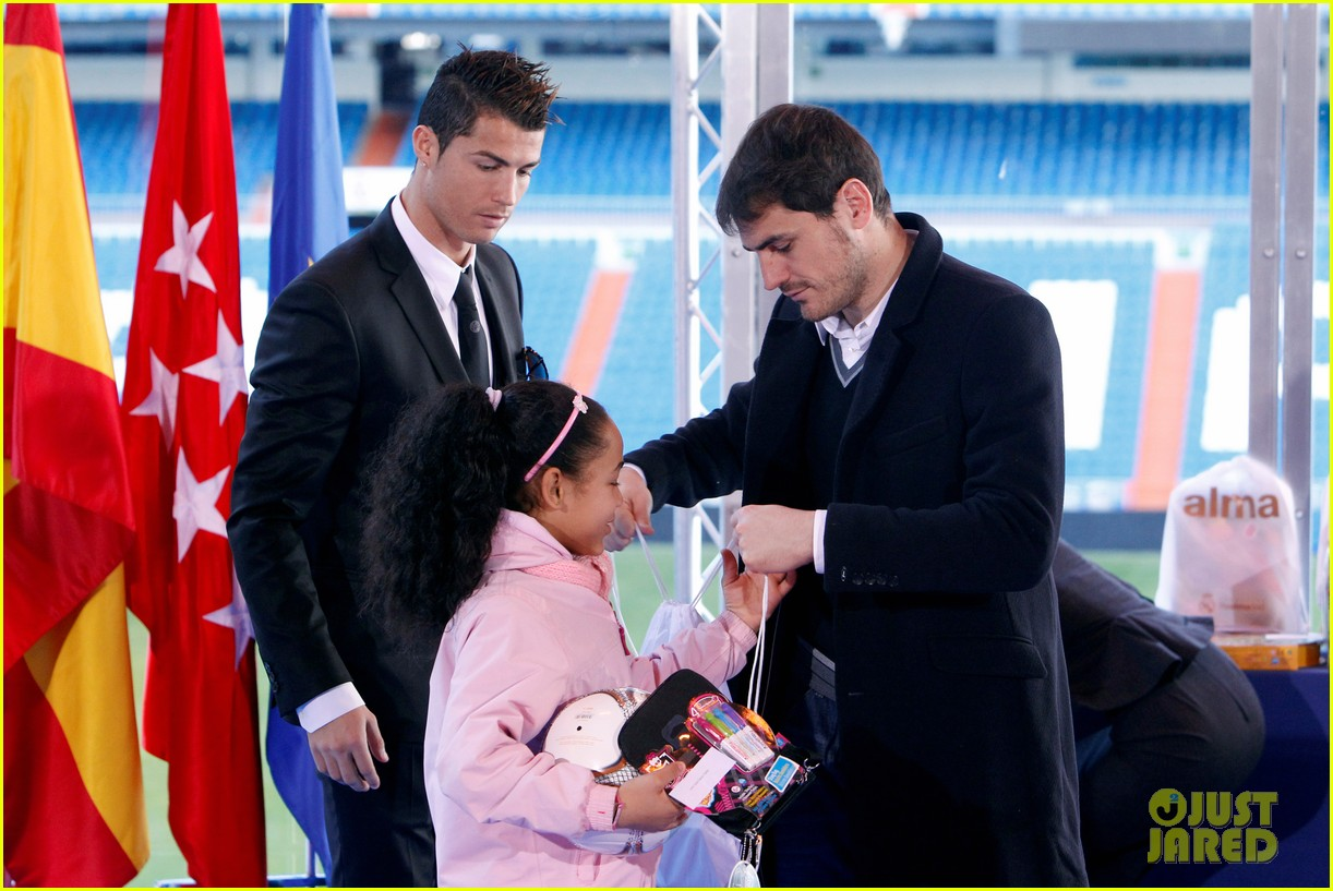 cristiano ronaldo one toy one hope charity event 153013585