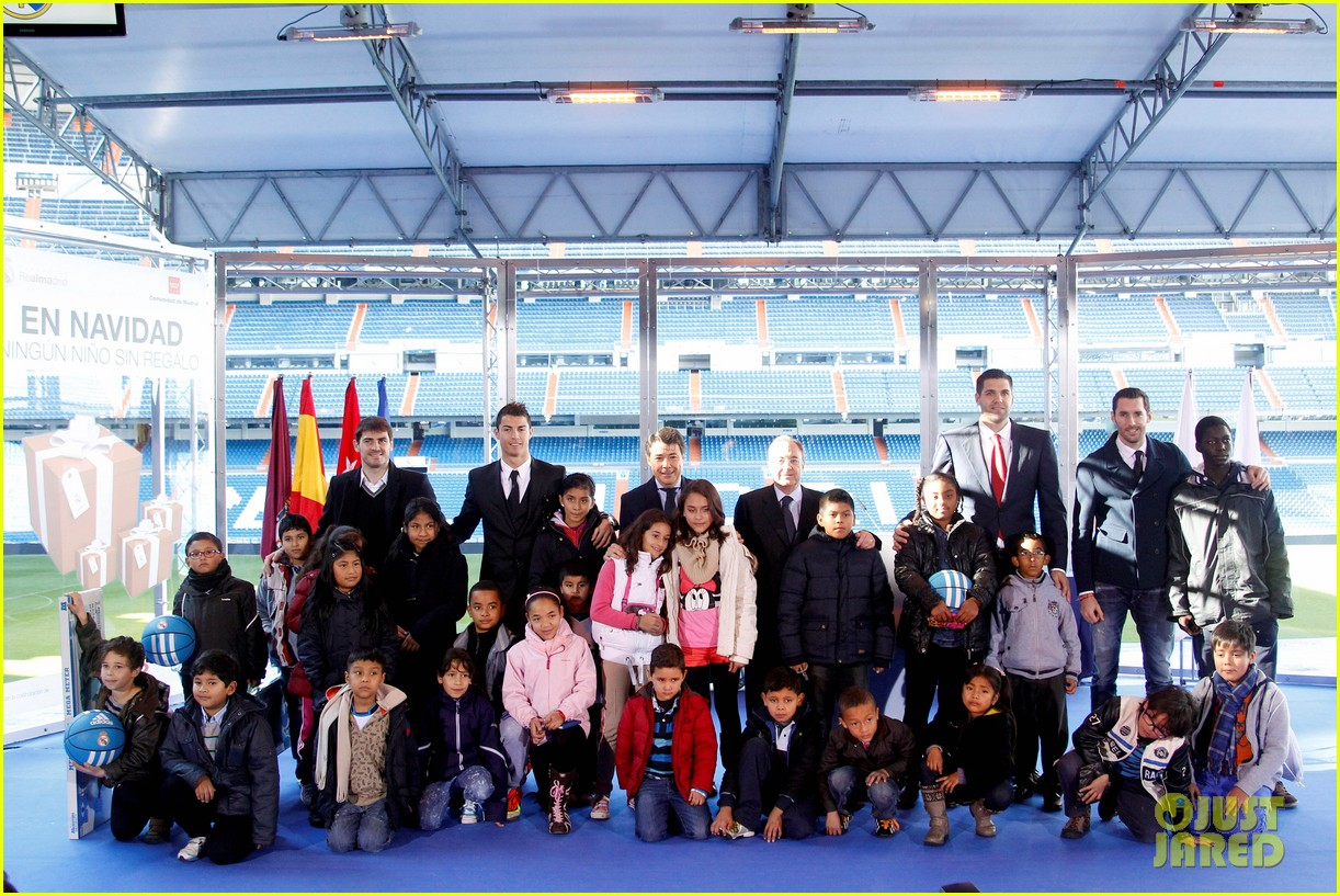 cristiano ronaldo one toy one hope charity event 213013591