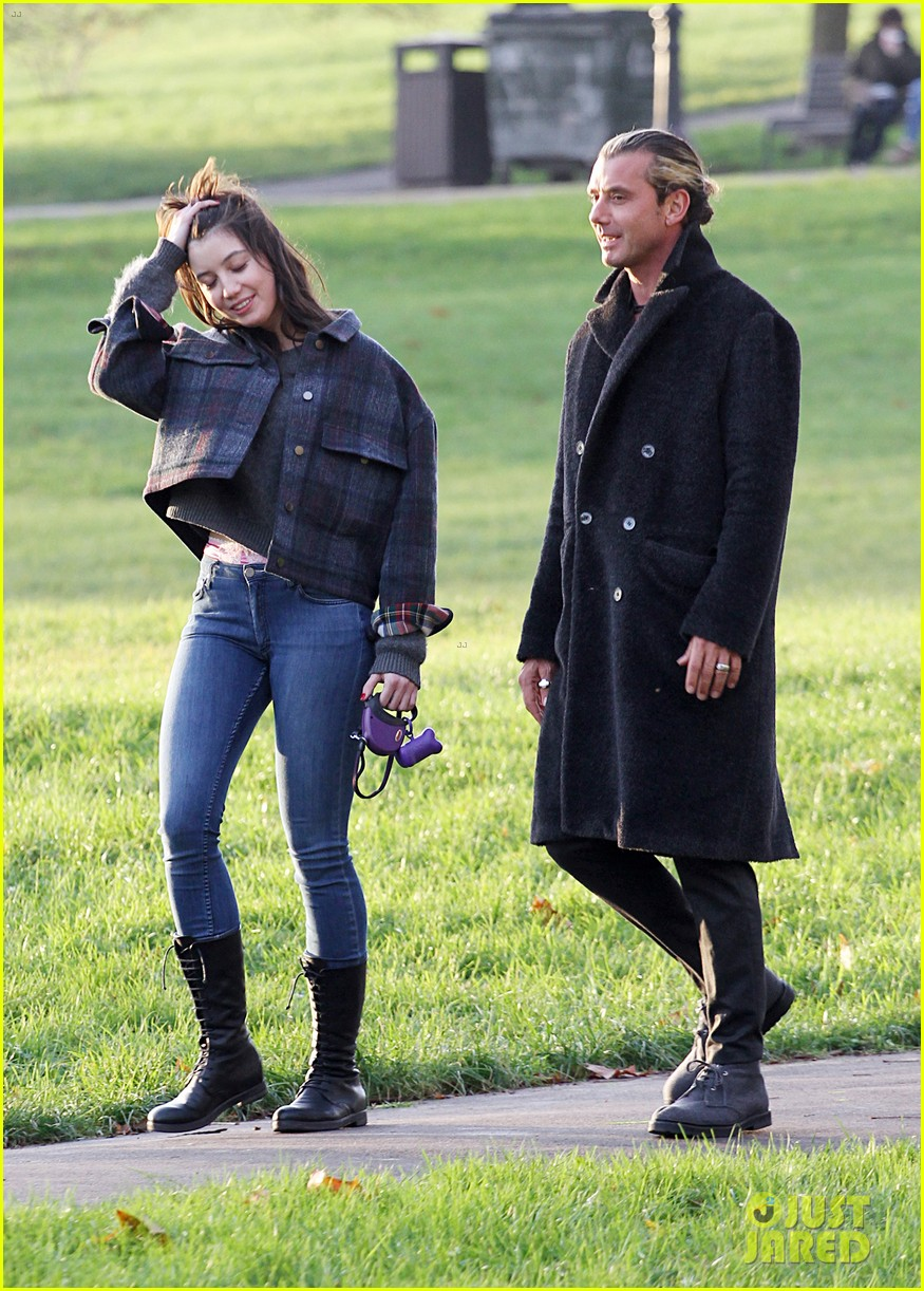 gavin rossdale spends time with daughter daisy lowe 063008395
