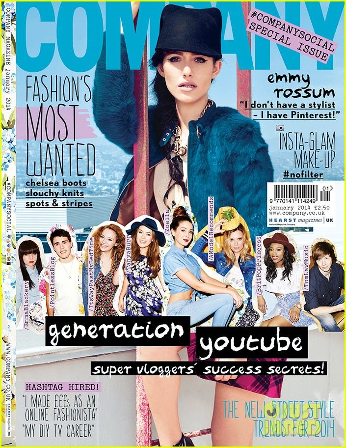 emmy rossum covers company january 2014 013008899