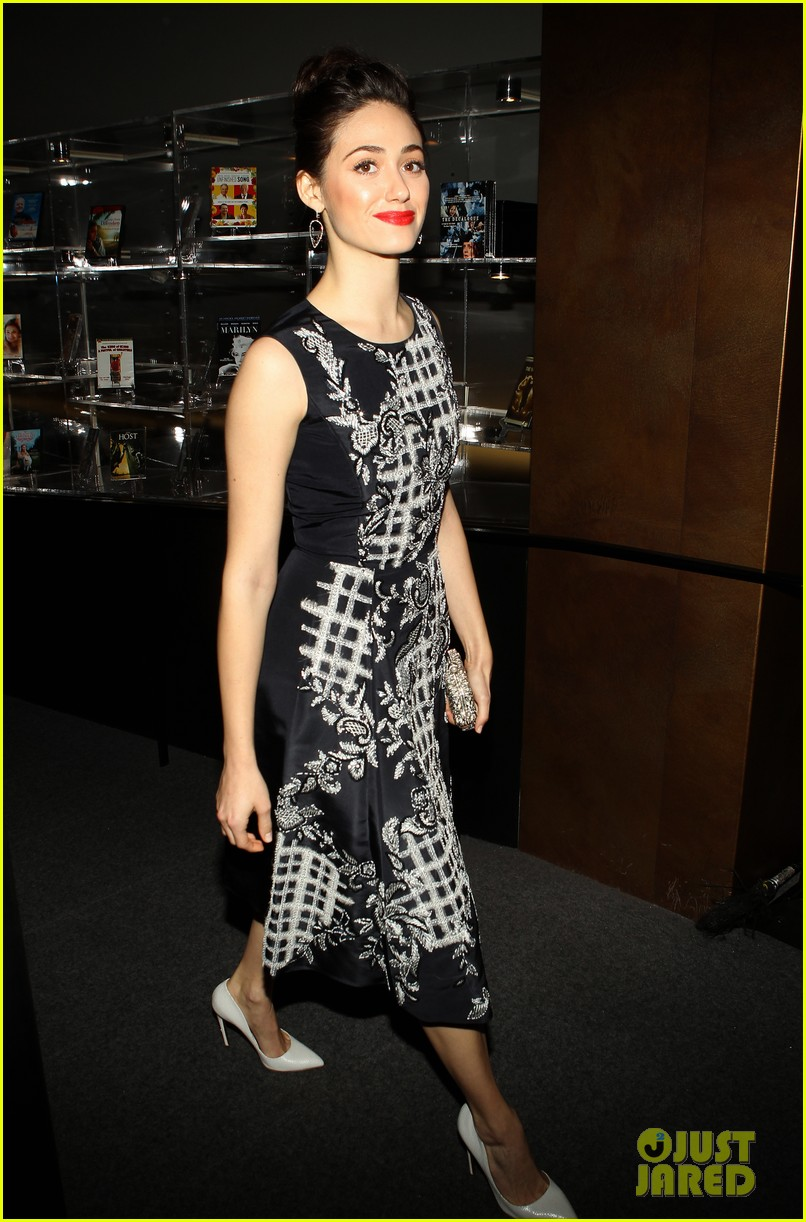 emmy rossum juliette lewis august osage county screening 213006166
