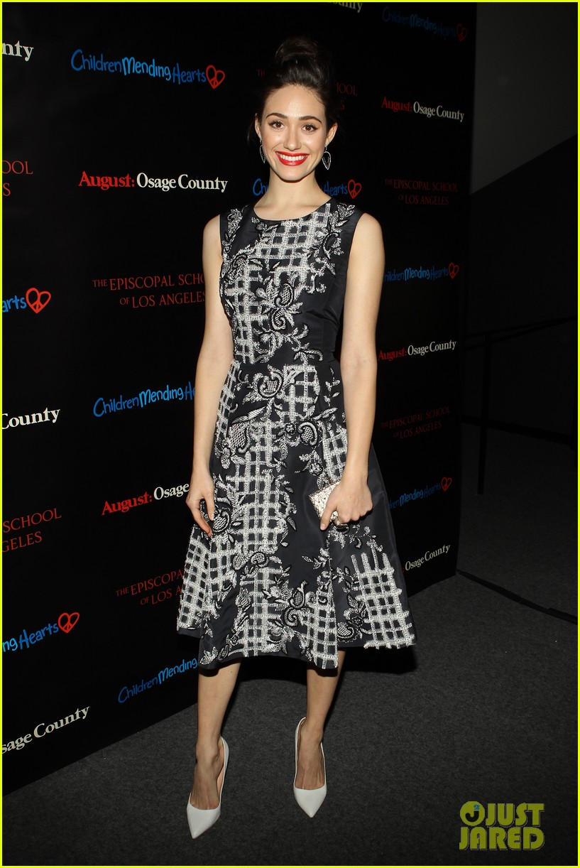 emmy rossum juliette lewis august osage county screening 23