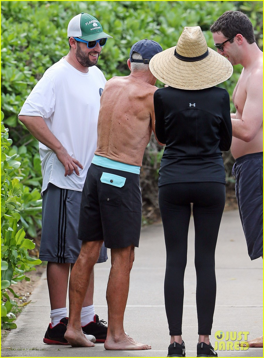adam sandler wife jackie spend quality time in hawaii 01