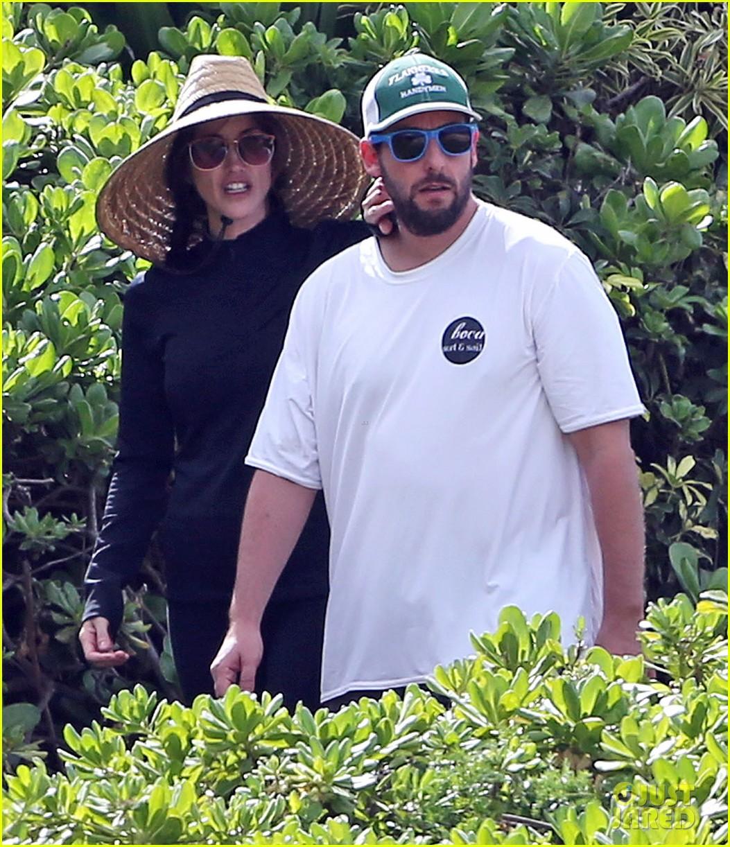 adam sandler wife jackie spend quality time in hawaii 023017785