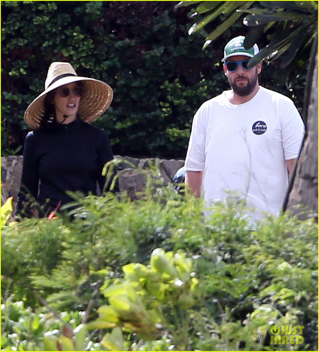 adam sandler wife jackie spend quality time in hawaii 103017793