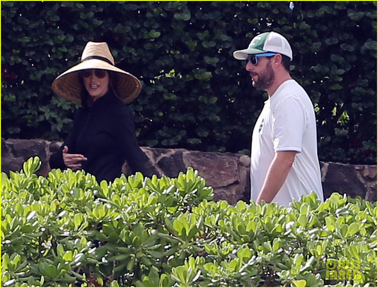 adam sandler wife jackie spend quality time in hawaii 133017796