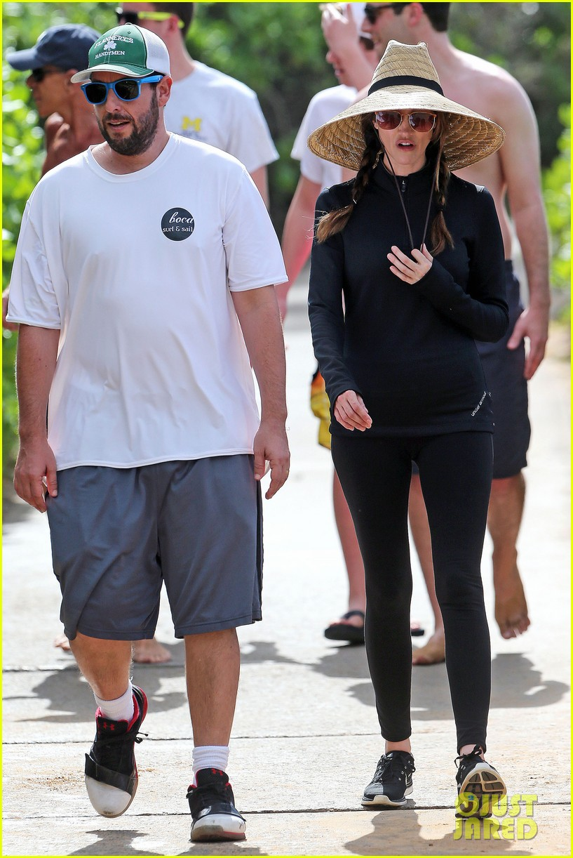 adam sandler wife jackie spend quality time in hawaii 143017797