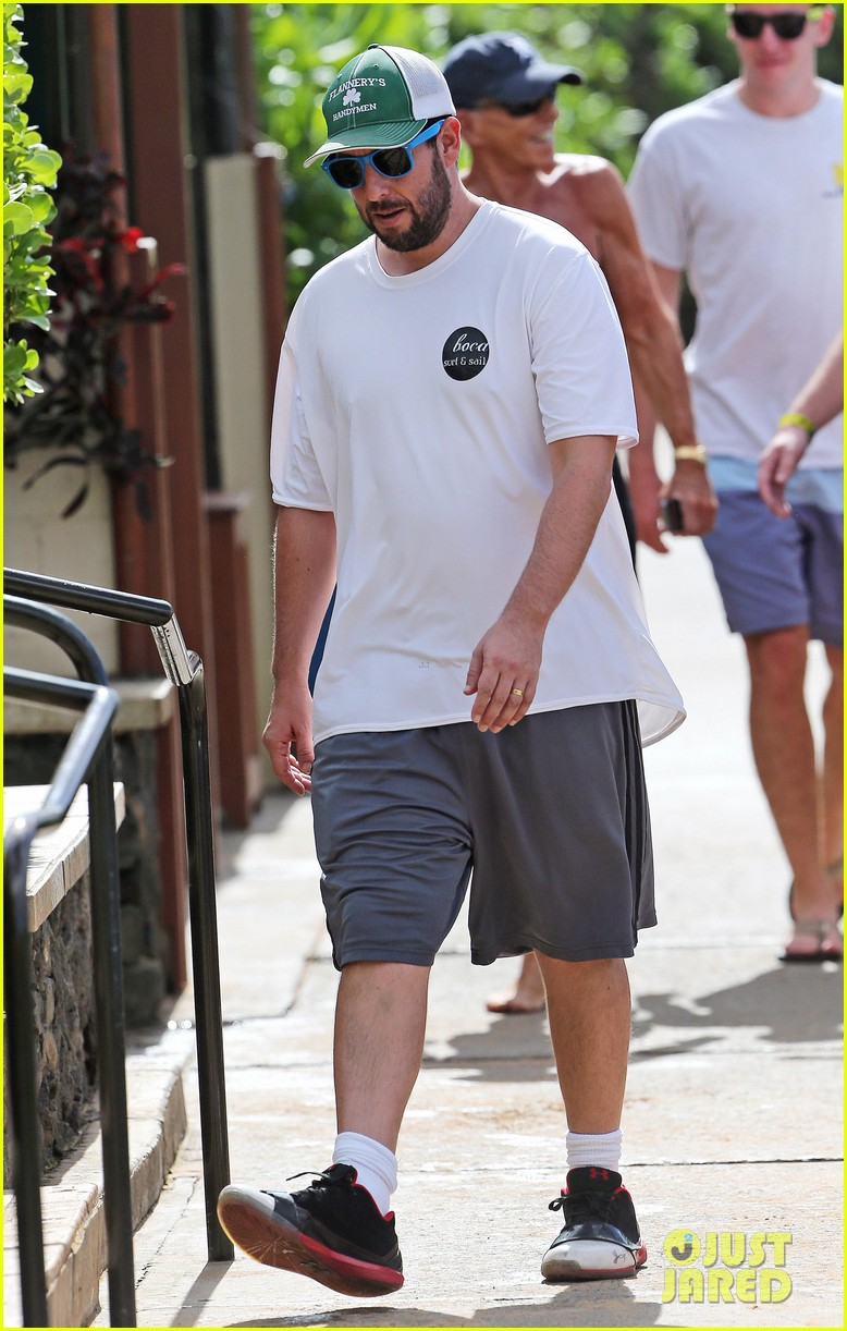 adam sandler wife jackie spend quality time in hawaii 223017805