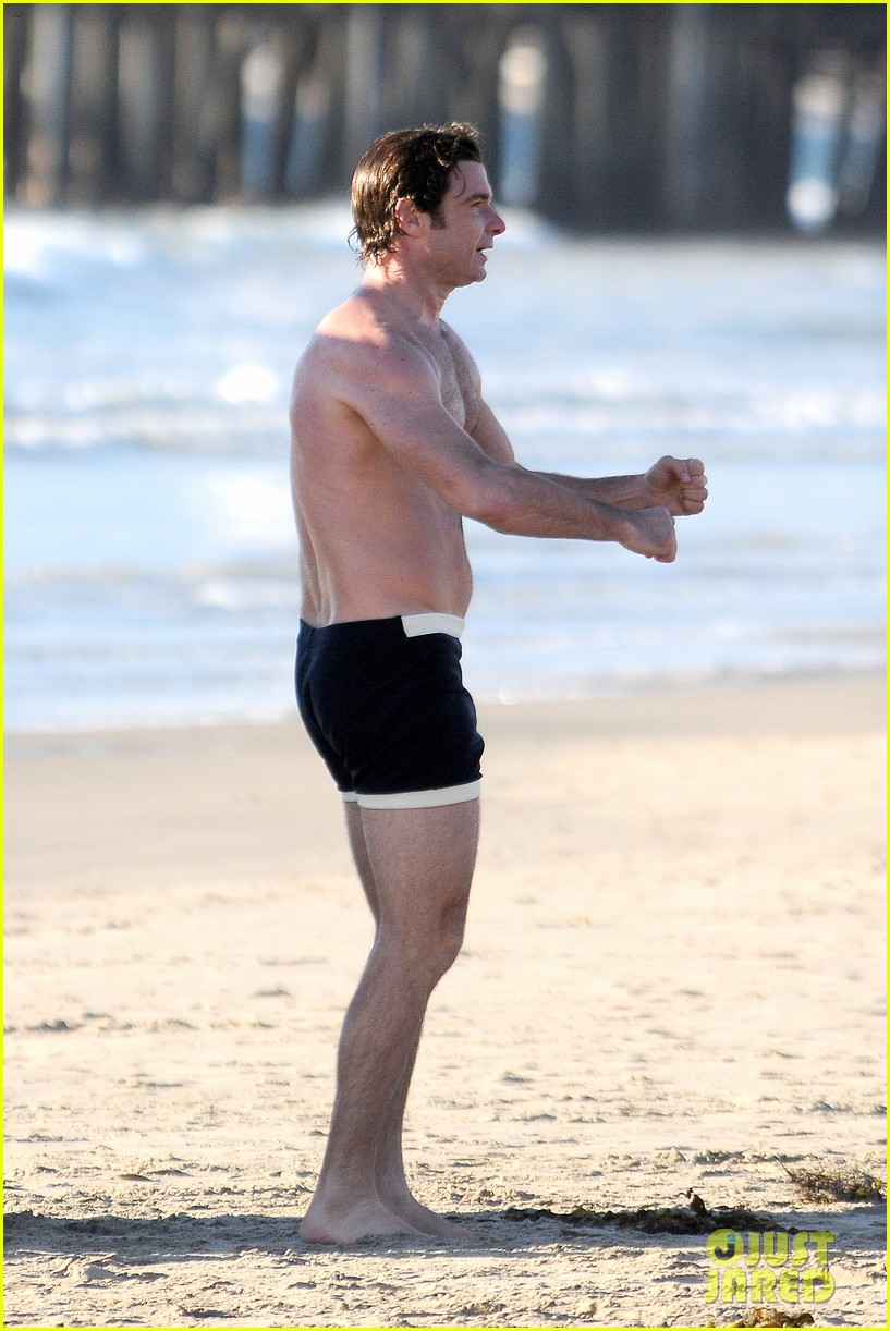 liev schreiber goes shirtless in skimpy swimsuit at the beach 203009340