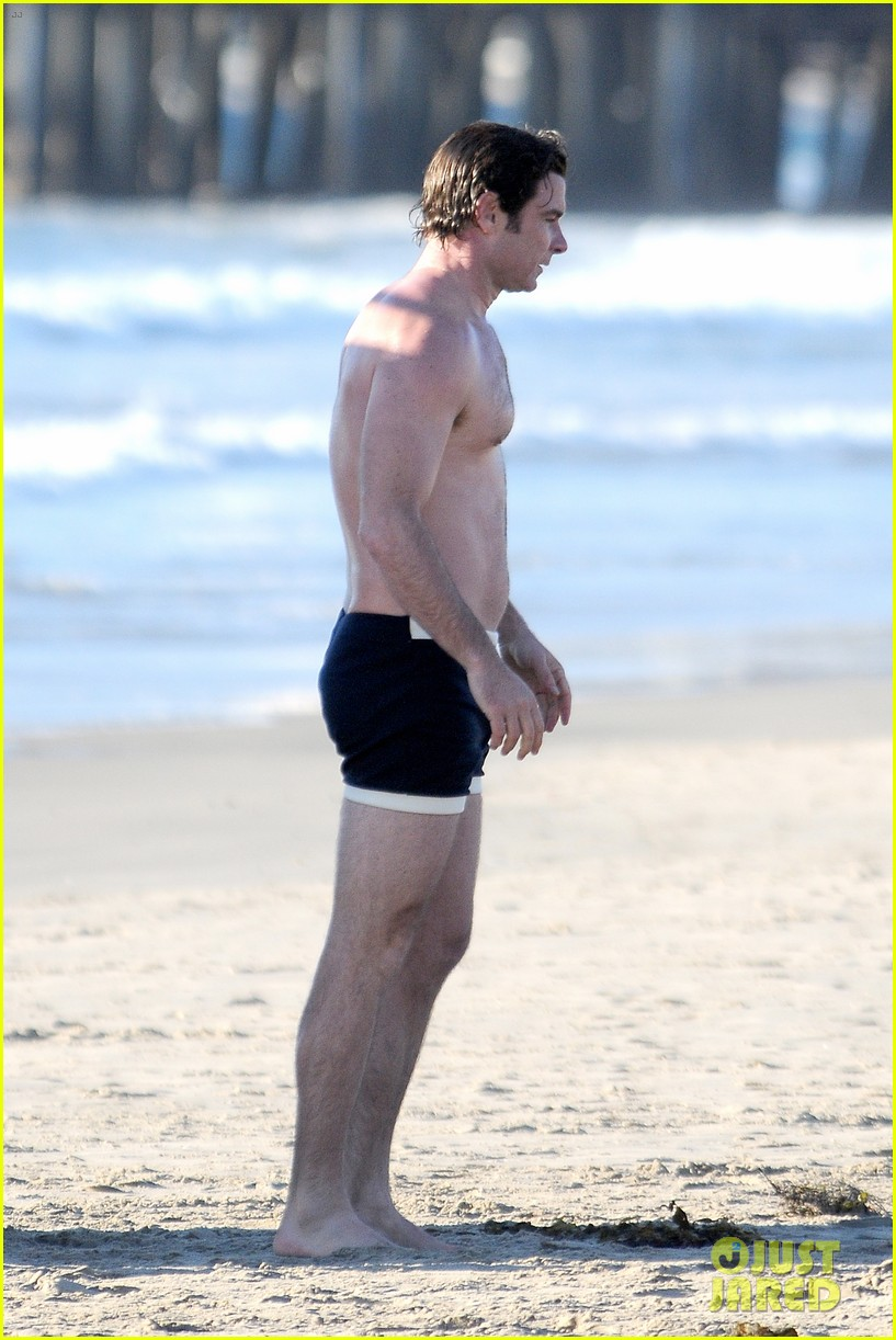 liev schreiber goes shirtless in skimpy swimsuit at the beach 283009348