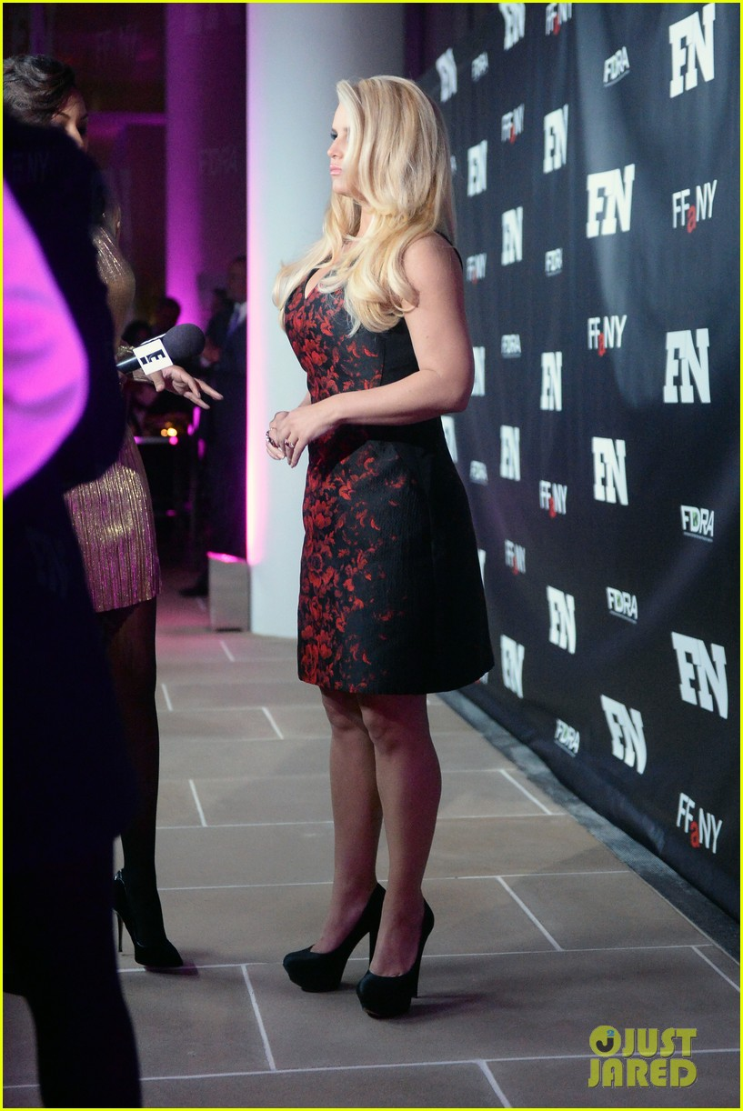 jessica simpson footwear news achievement awards 2013 143004869