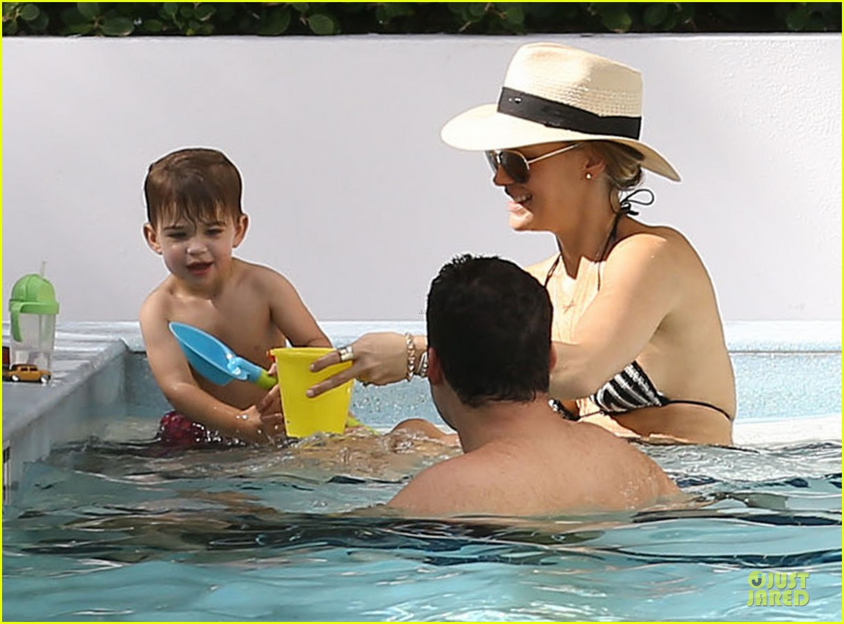molly sims bikini relaxation with shirtless scott stuber 063017316
