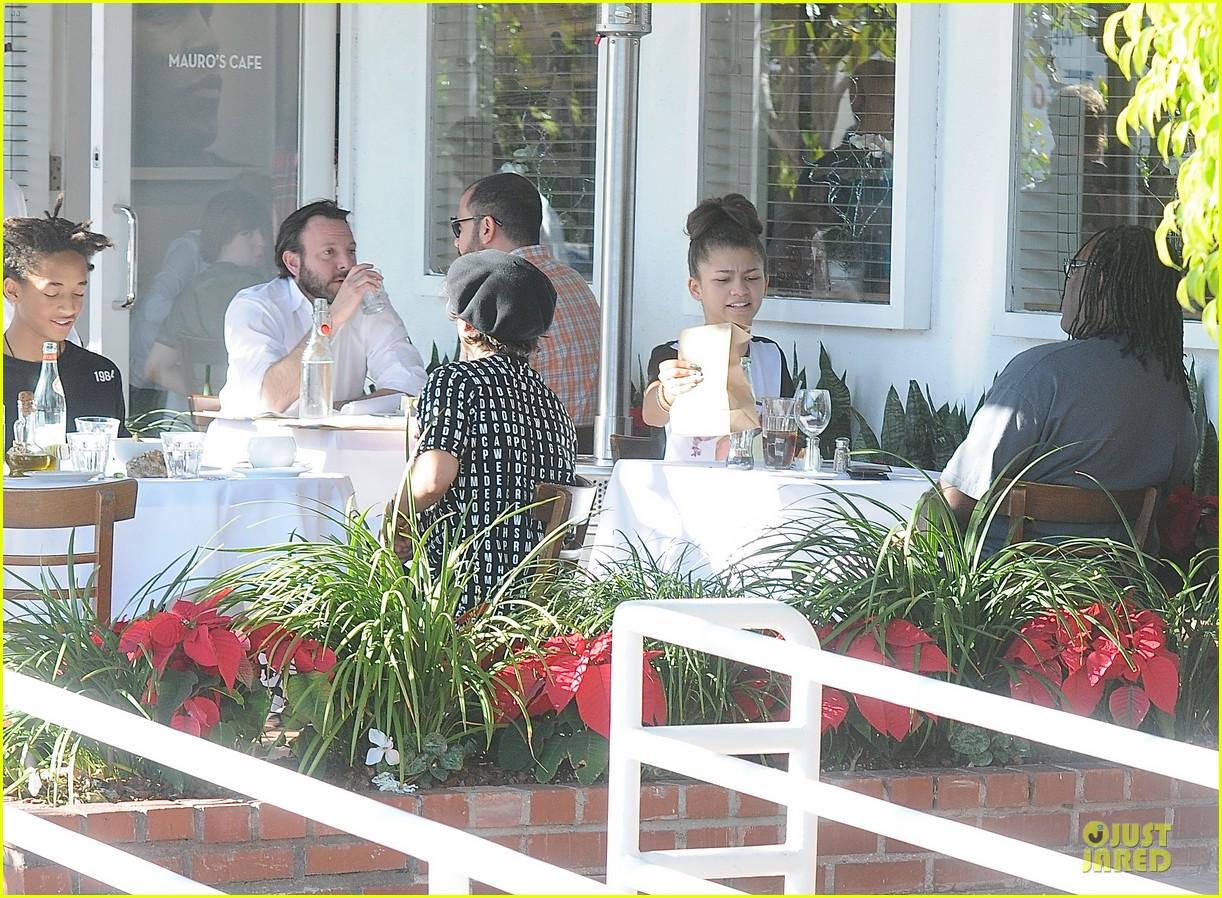 jaden smith zendaya table mates at mauro cafe 033019053