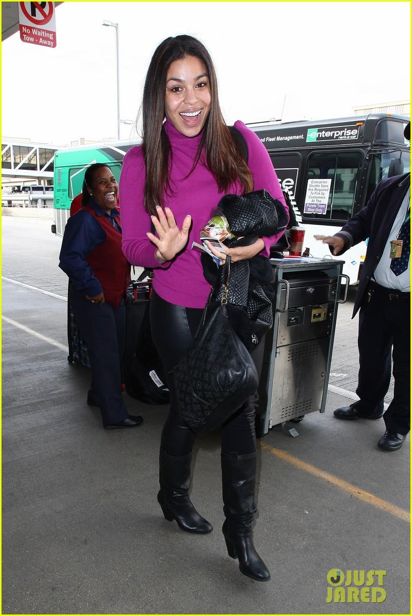 jordin sparks jennifer hudson idol ladies at lax airport 013014705