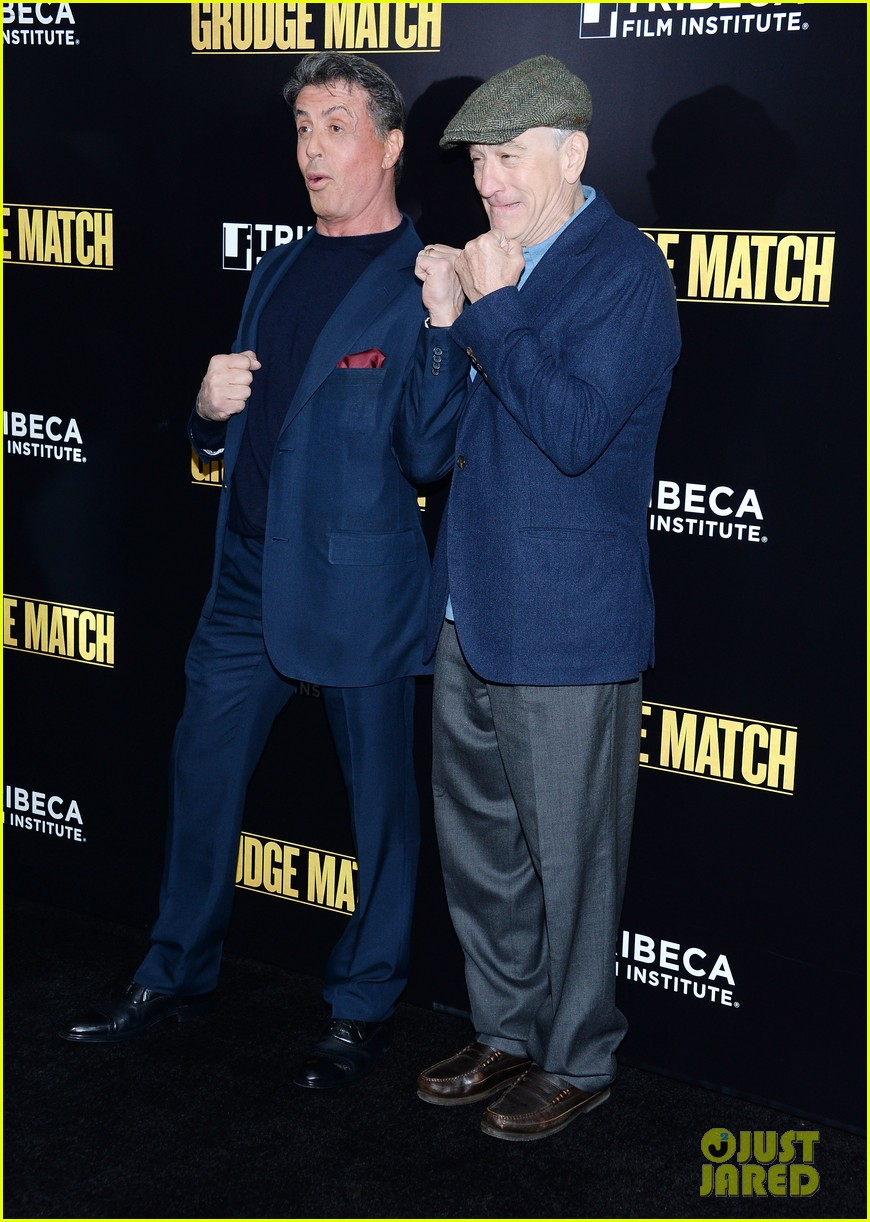 sylvester stallone robert de niro grudge match screening 193013547
