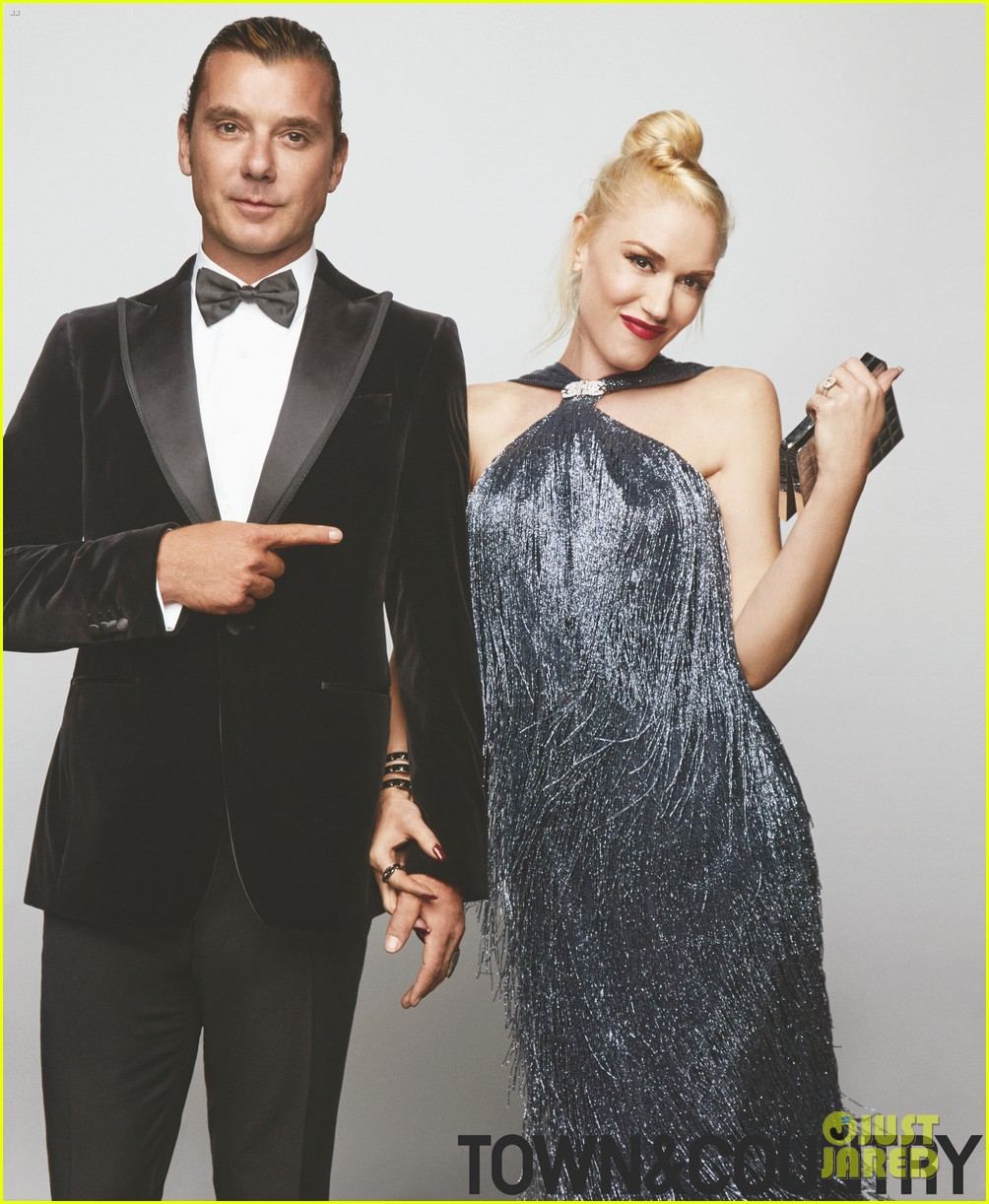 gwen stefani gavin rossdale cover town country january 2014 013003430