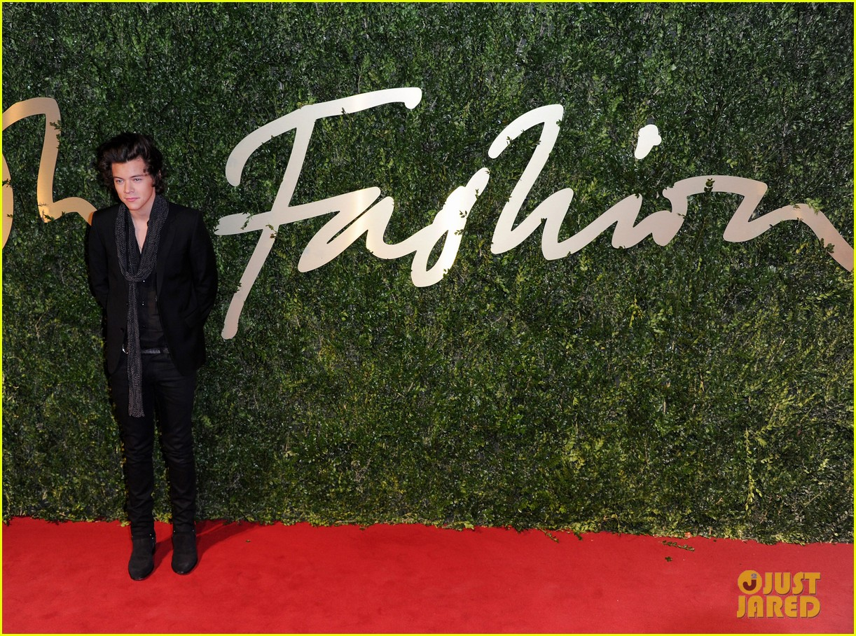 harry styles suki waterhouse british fashion awards 2013 13