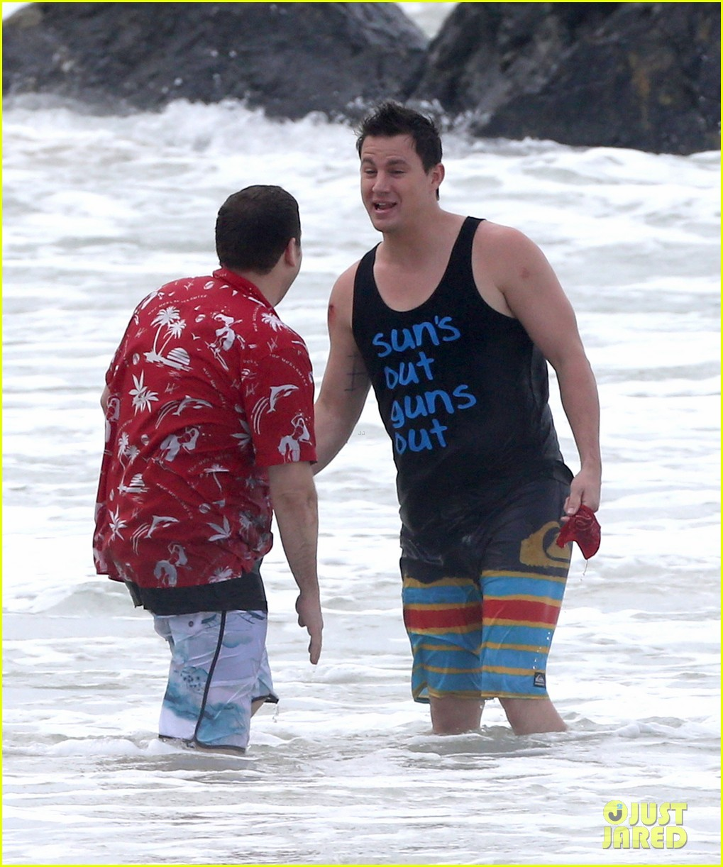 channing tatum gives jonah hill big hug for 22 jump street 163010618