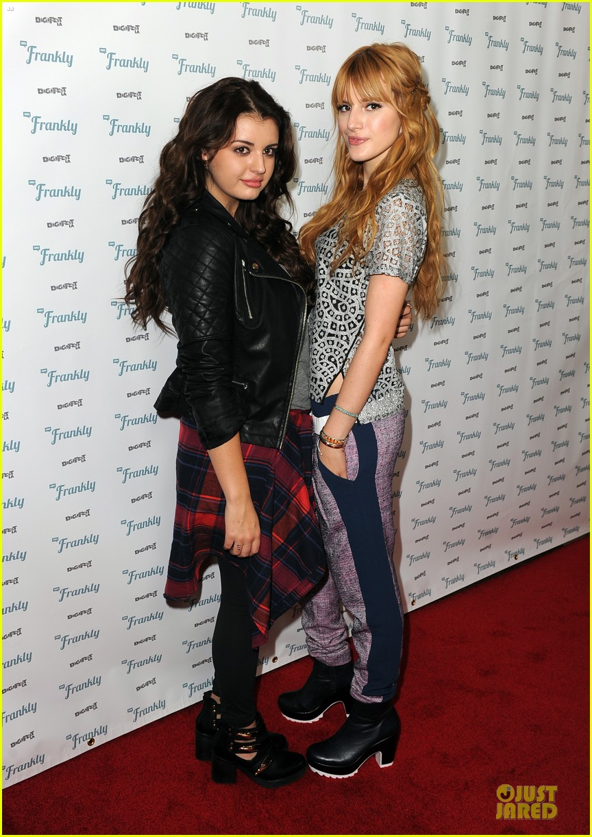 bella thorne digifest la with noah cyrus 033012727
